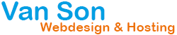 Logo van Son Webdesign en Hosting